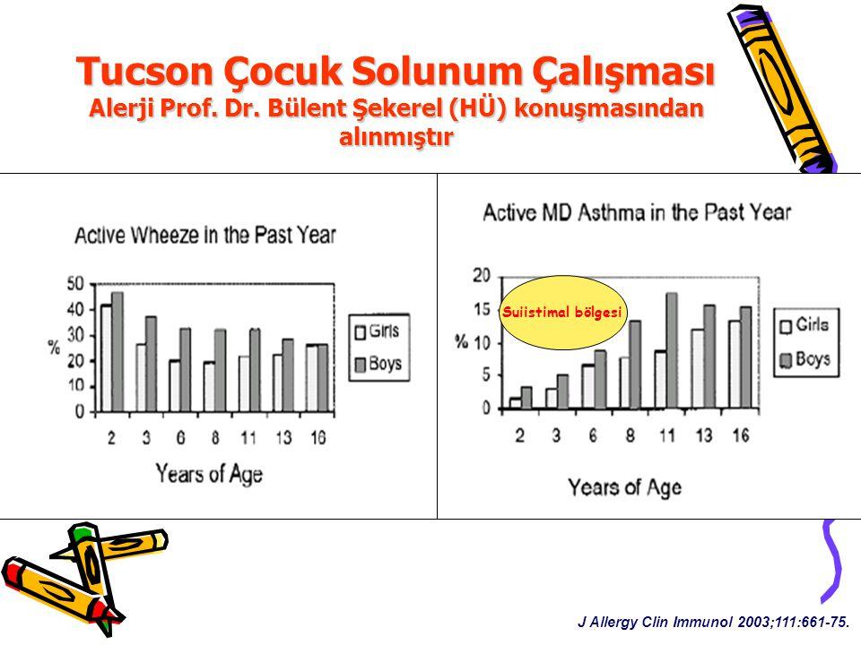 Tucson Çocuk Solunum Çalışması Alerji Prof. Dr