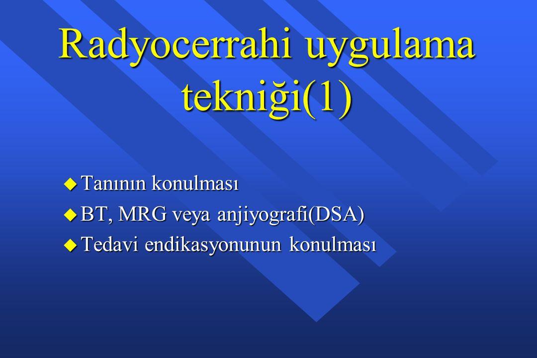 Radyocerrahi uygulama tekniği(1)