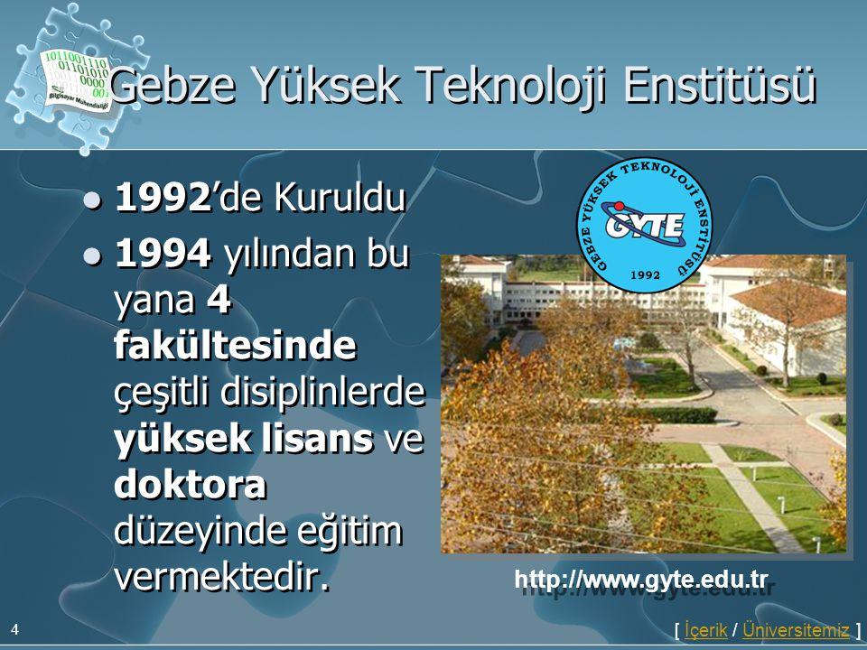 Gebze Yüksek Teknoloji Enstitüsü