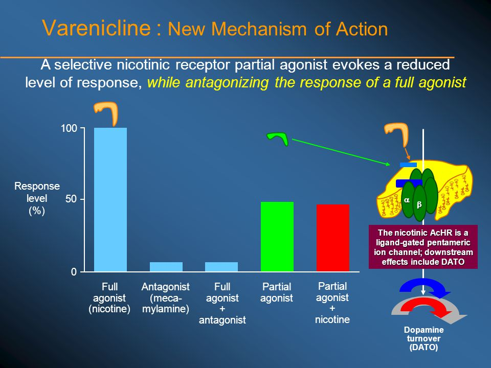 Varenicline : New Mechanism of Action