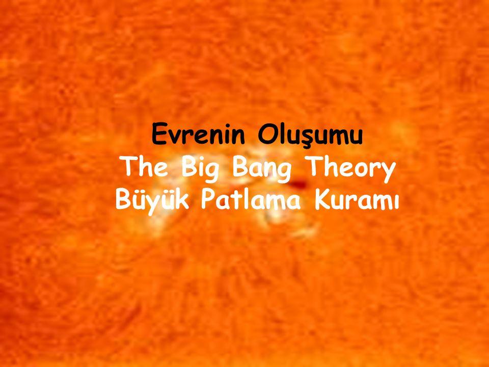 Evrenin Oluşumu The Big Bang Theory Büyük Patlama Kuramı