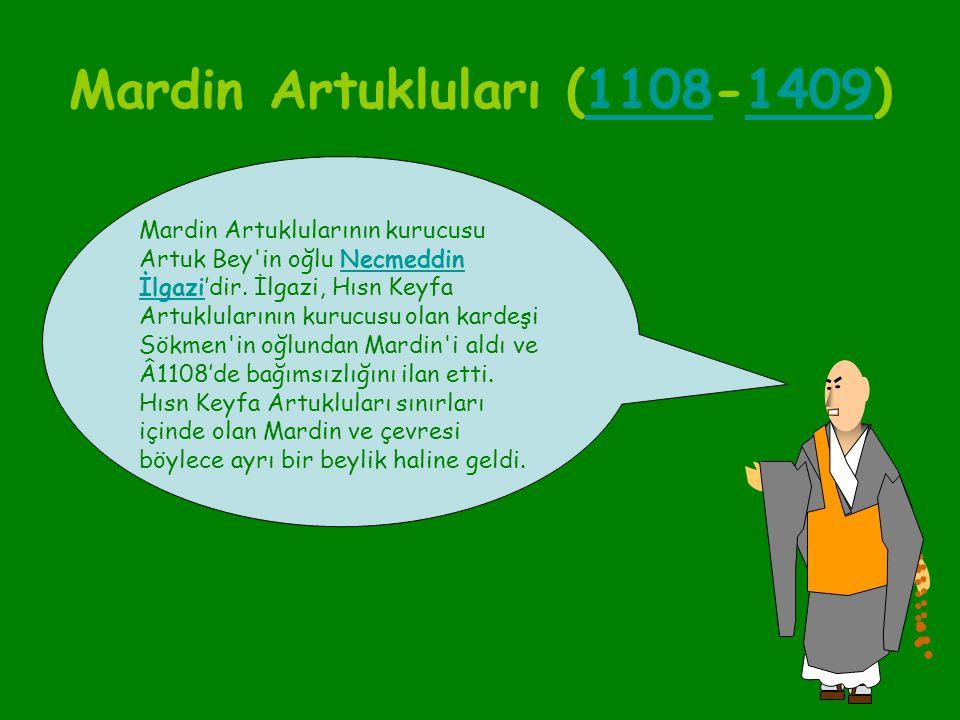 Mardin Artukluları (1108-1409)