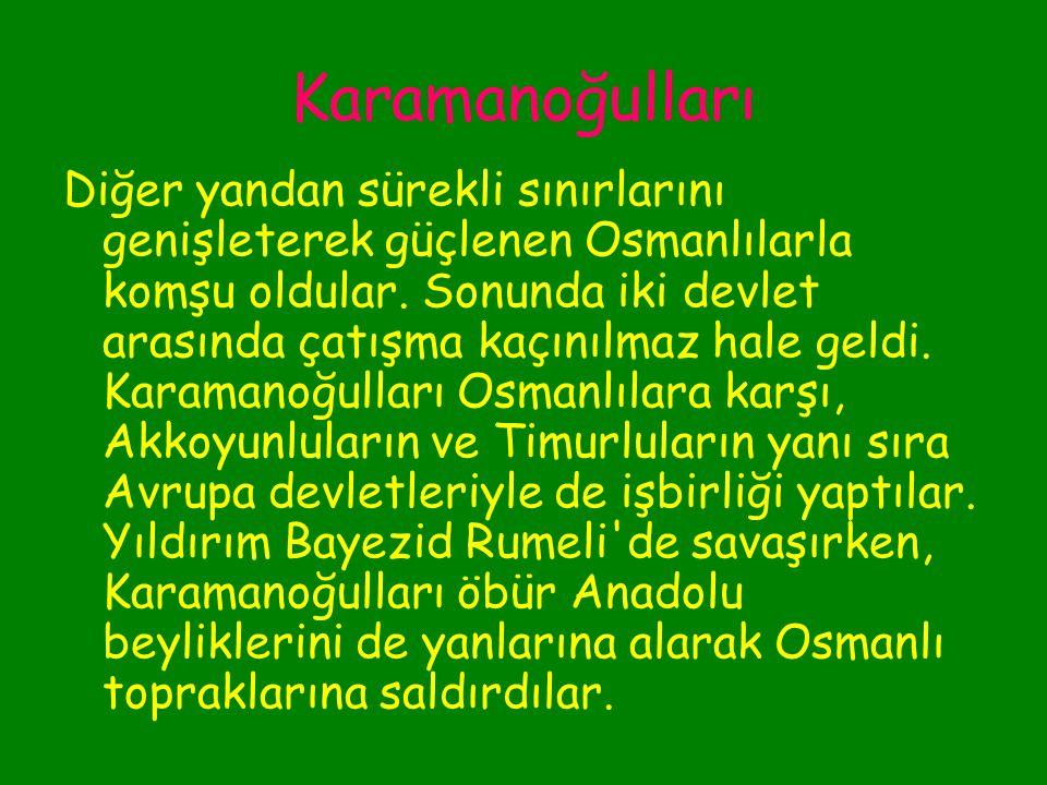 Karamanoğulları