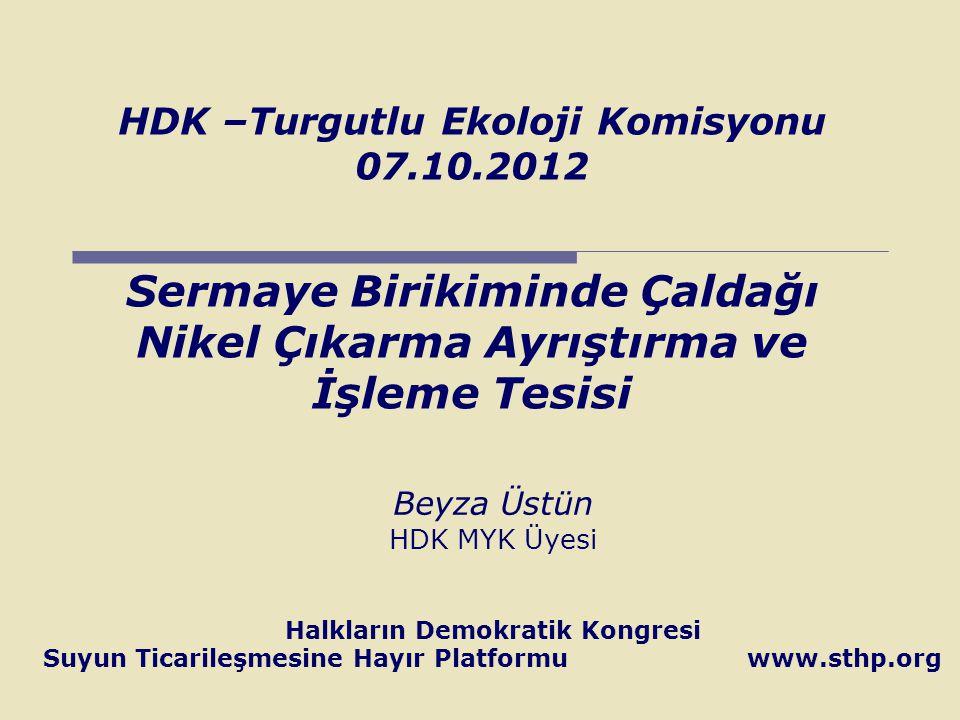HDK –Turgutlu Ekoloji Komisyonu 07. 10