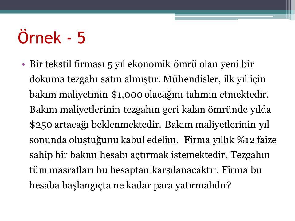 Örnek - 5