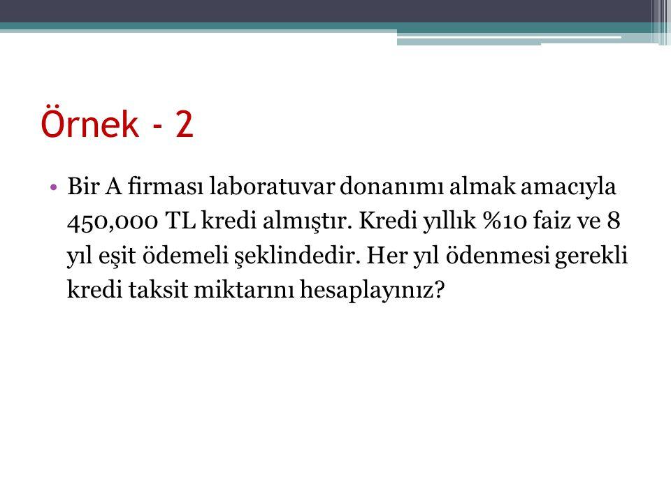 Örnek - 2