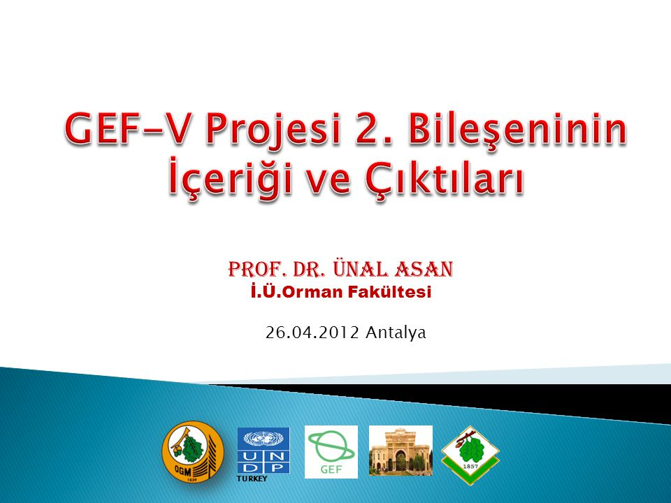 GEF-V Projesi 2. Bileşeninin