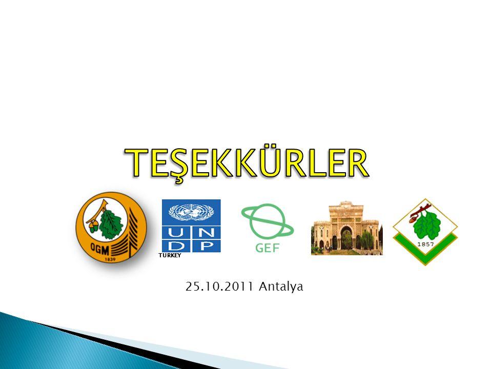 TEŞEKKÜRLER TURKEY 25.10.2011 Antalya