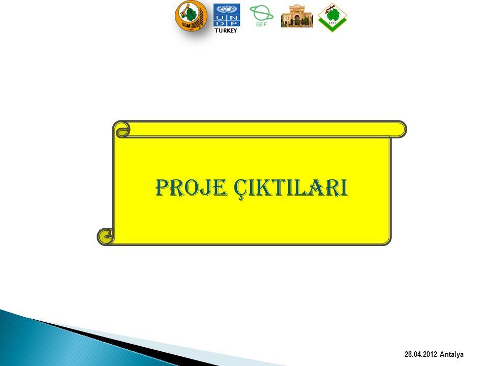 TURKEY PROJE ÇIKTILARI 26.04.2012 Antalya