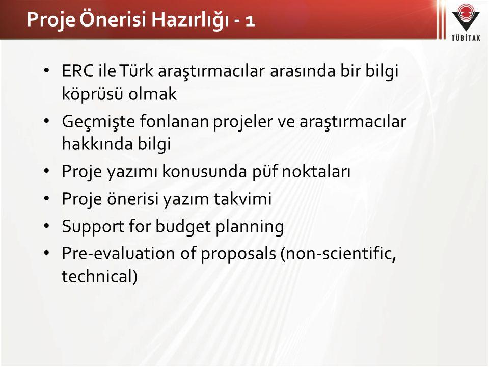 Proje Önerisi Hazırlığı - 1