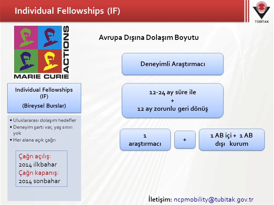 Individual Fellowships (IF)