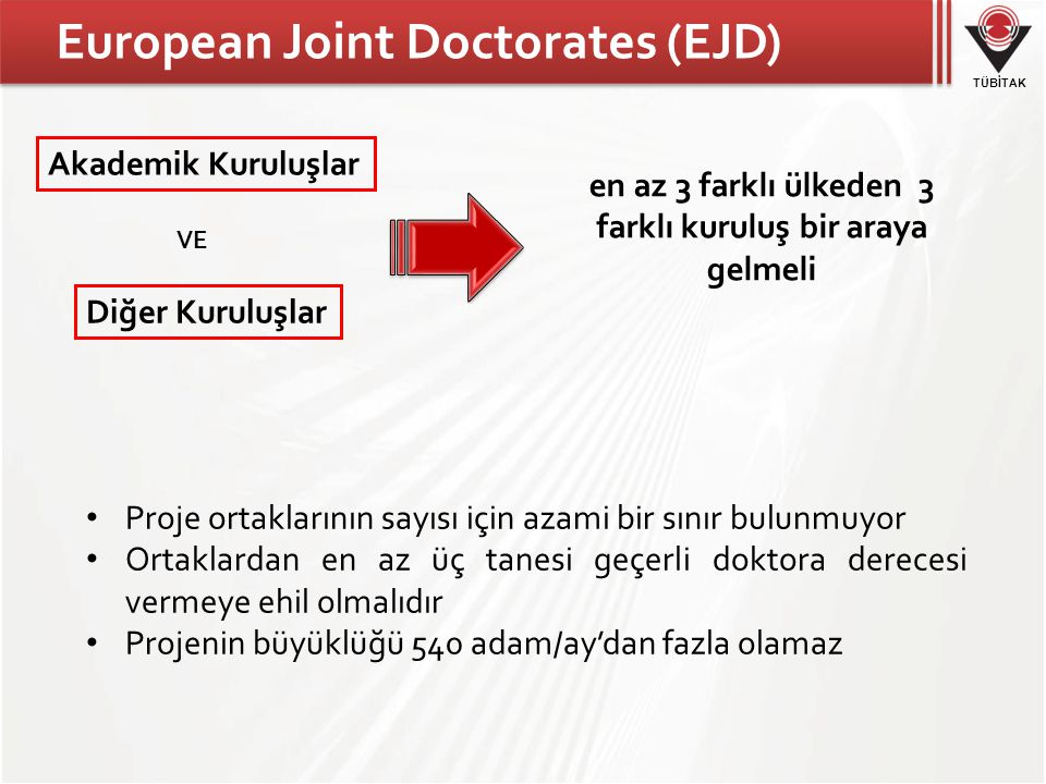 European Joint Doctorates (EJD)