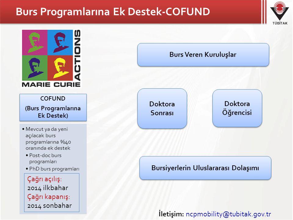 Burs Programlarına Ek Destek-COFUND