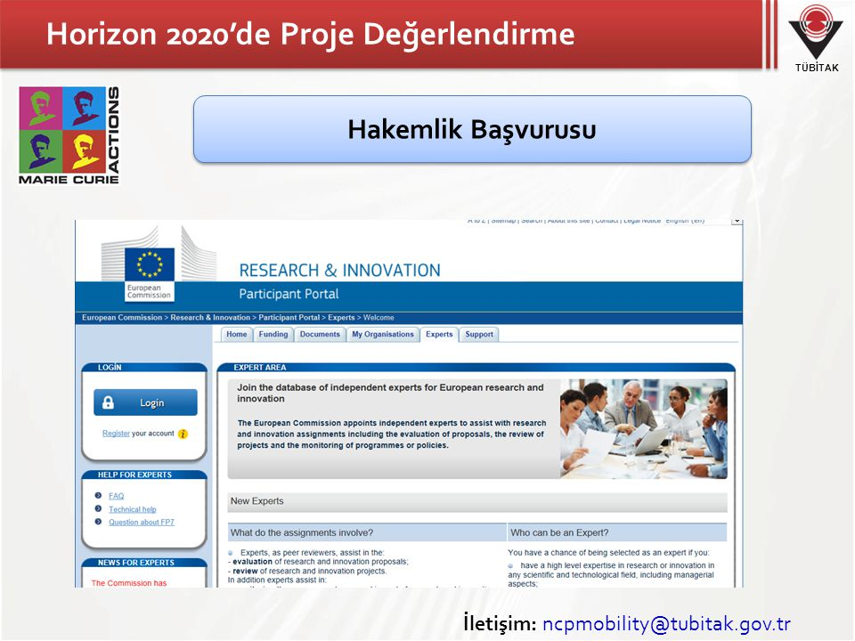 Horizon 2020'de Proje Değerlendirme
