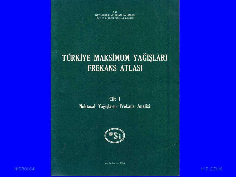HİDROLOJİ H. E. ÇELİK