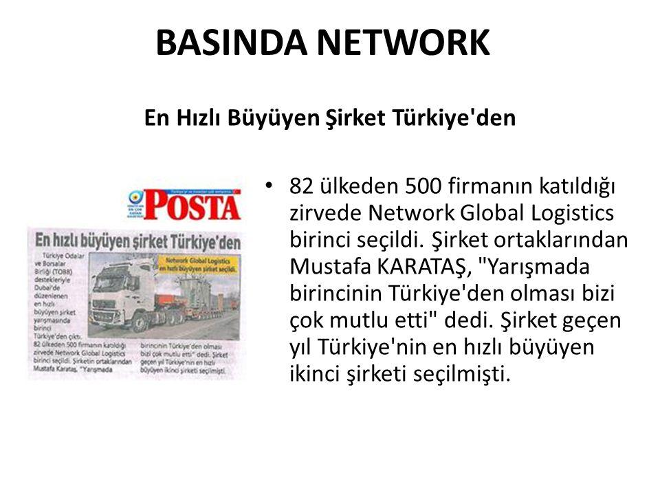 En Hızlı Büyüyen Şirket Türkiye den
