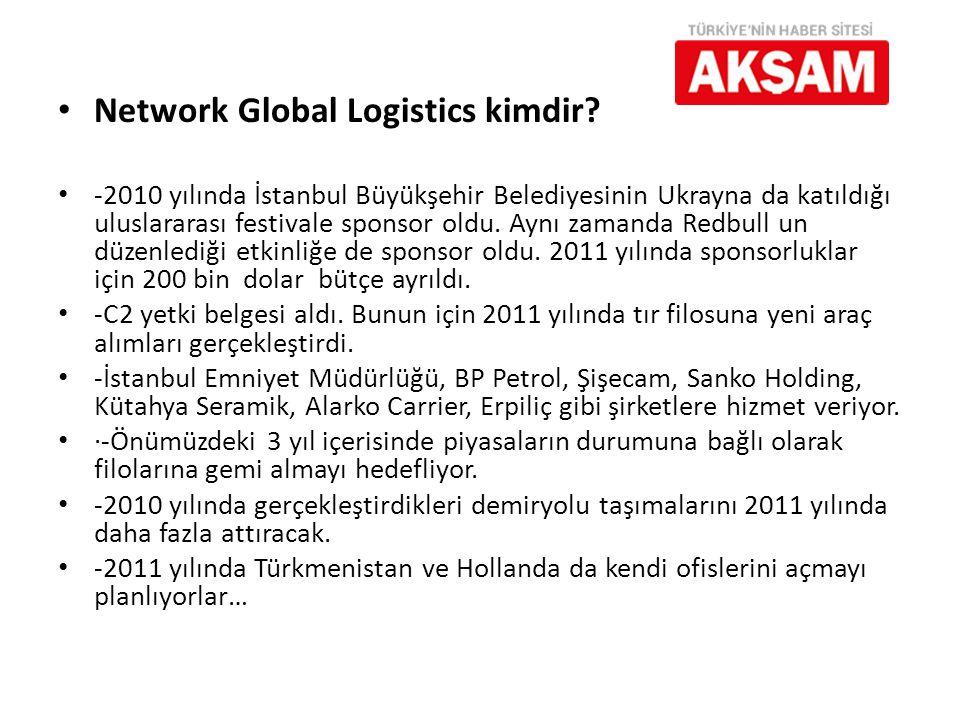 Network Global Logistics kimdir