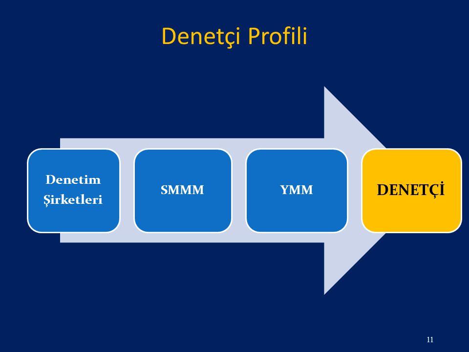 Denetçi Profili Denetim Şirketleri SMMM YMM DENETÇİ