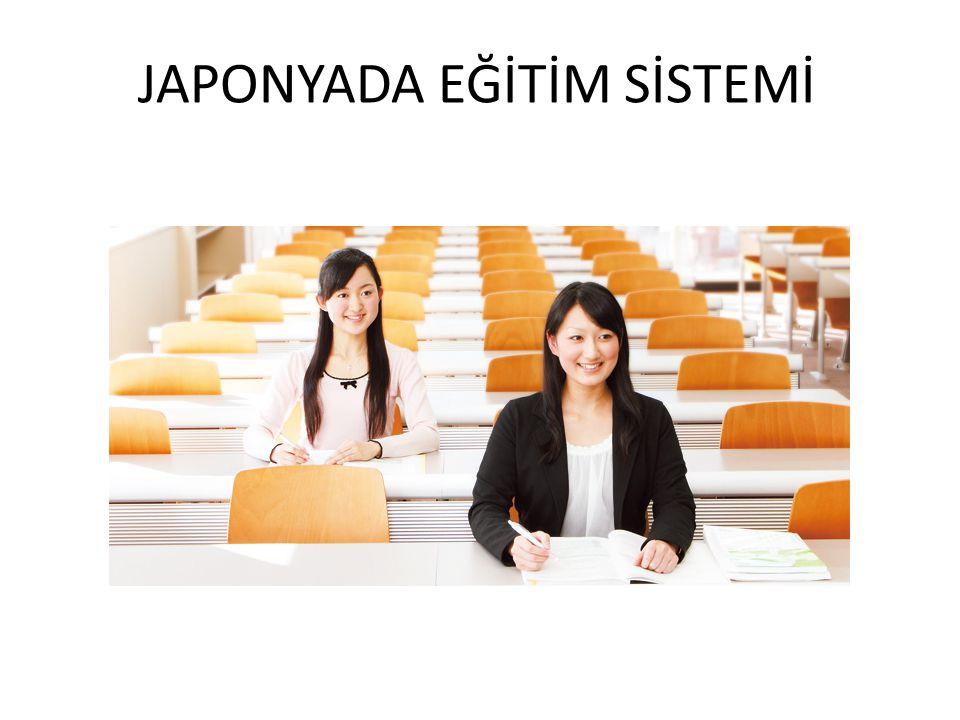 JAPONYADA EĞİTİM SİSTEMİ