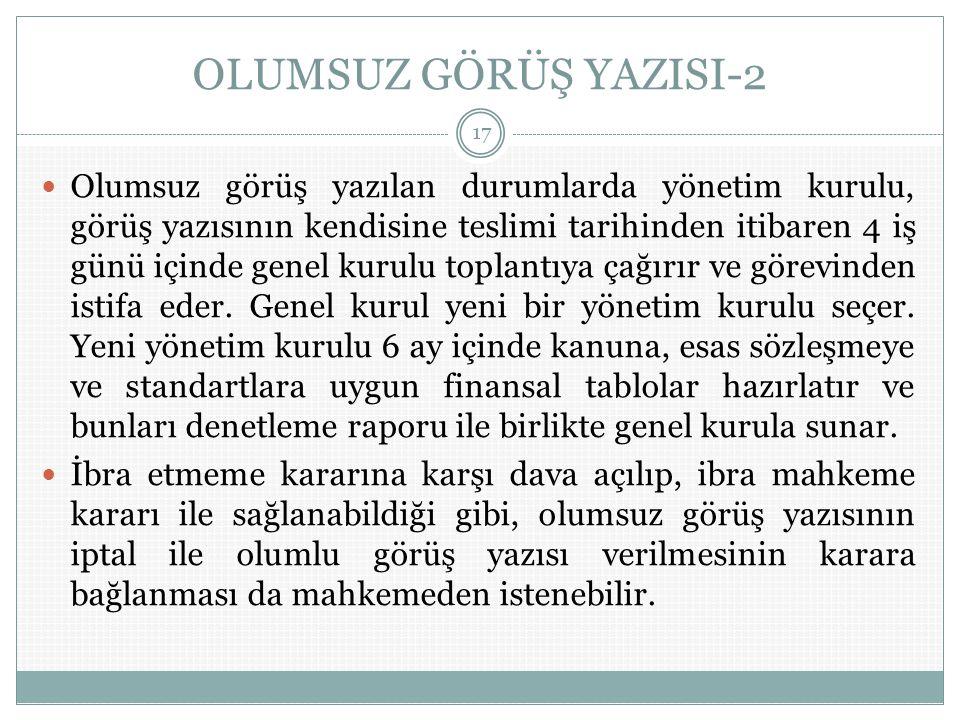 OLUMSUZ GÖRÜŞ YAZISI-2