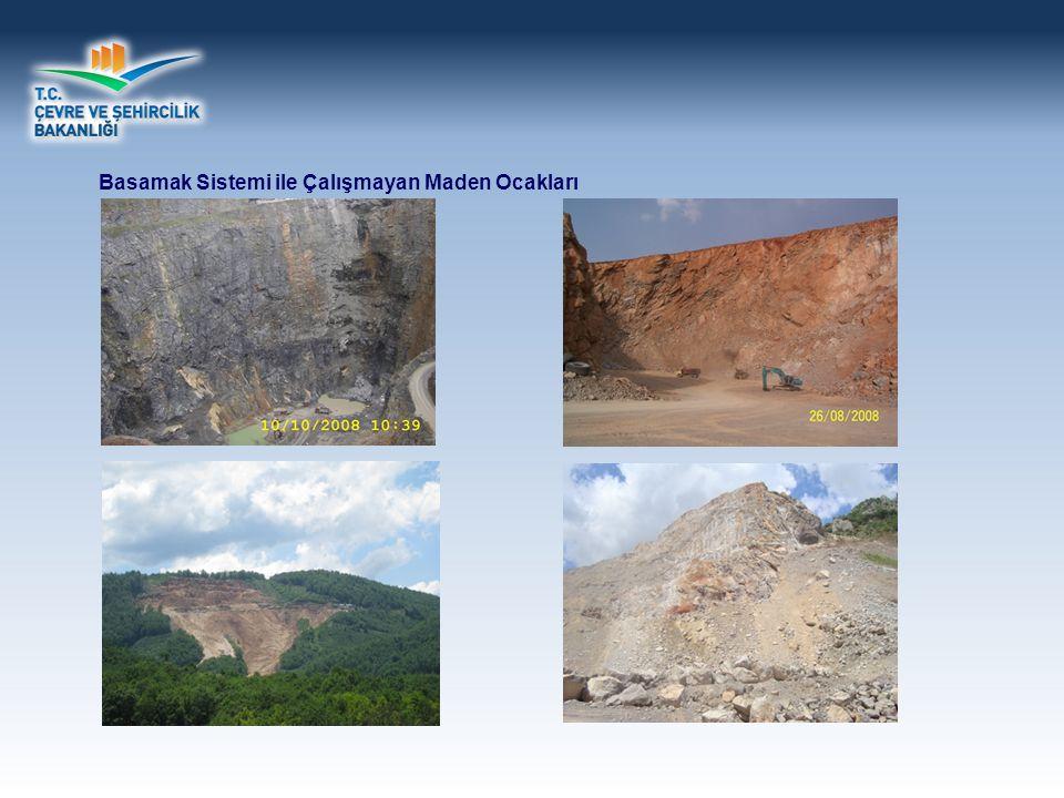 Basamak Sistemi ile Çalışmayan Maden Ocakları