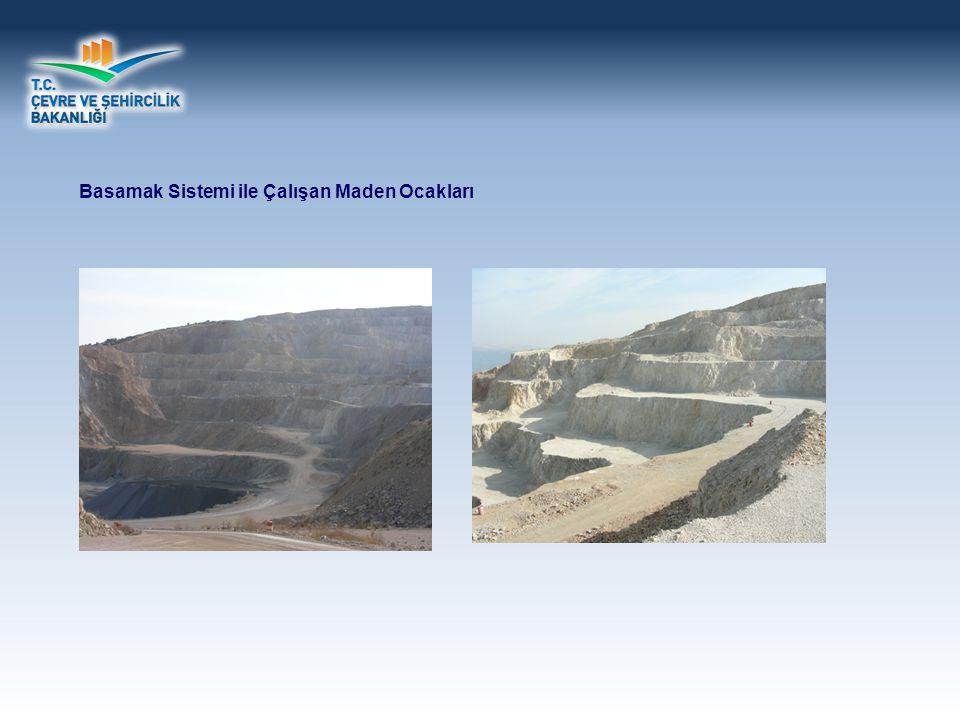 Basamak Sistemi ile Çalışan Maden Ocakları