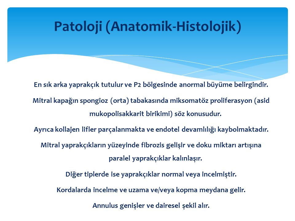 Patoloji (Anatomik-Histolojik)