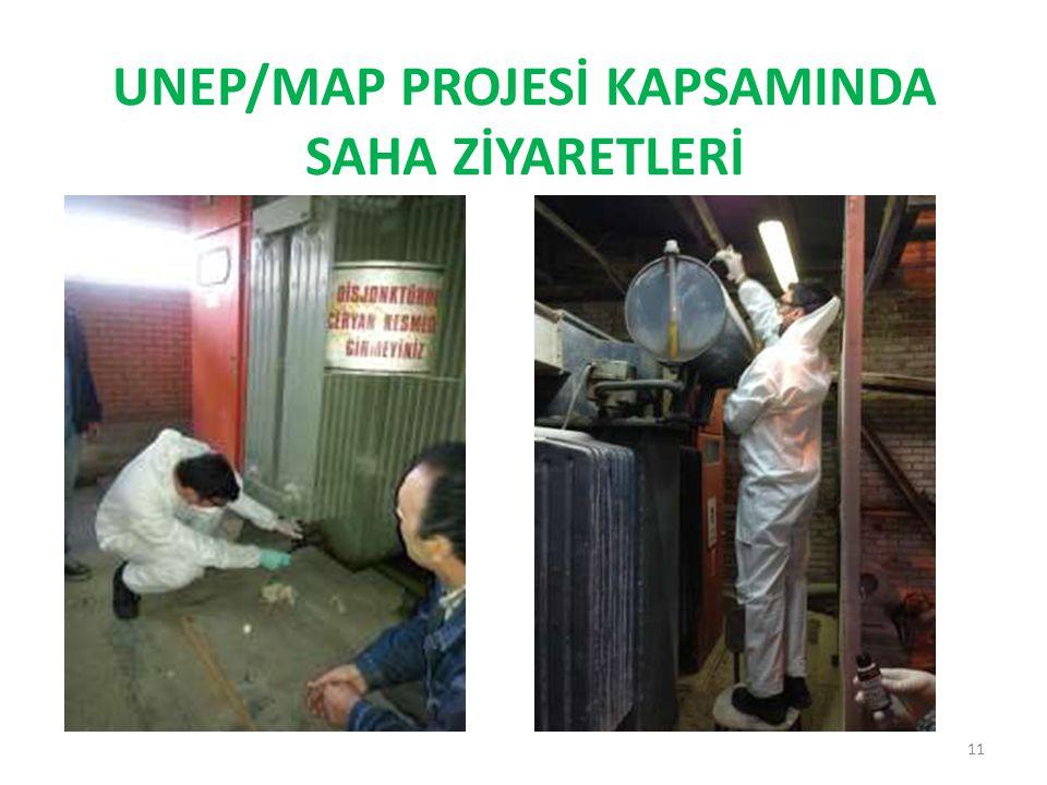 UNEP/MAP PROJESİ KAPSAMINDA SAHA ZİYARETLERİ