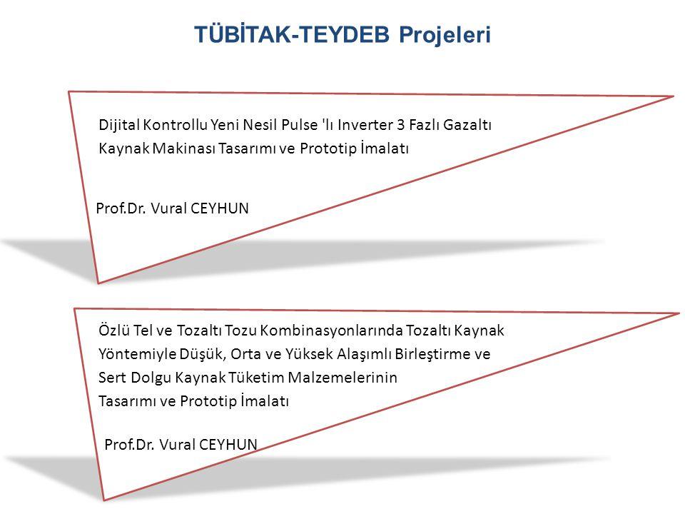TÜBİTAK-TEYDEB Projeleri