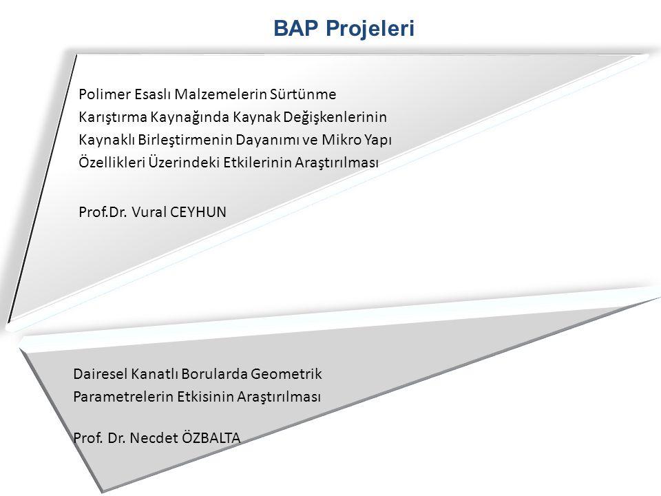 BAP Projeleri