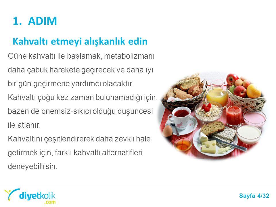 ADIM Kahvaltı etmeyi alışkanlık edin
