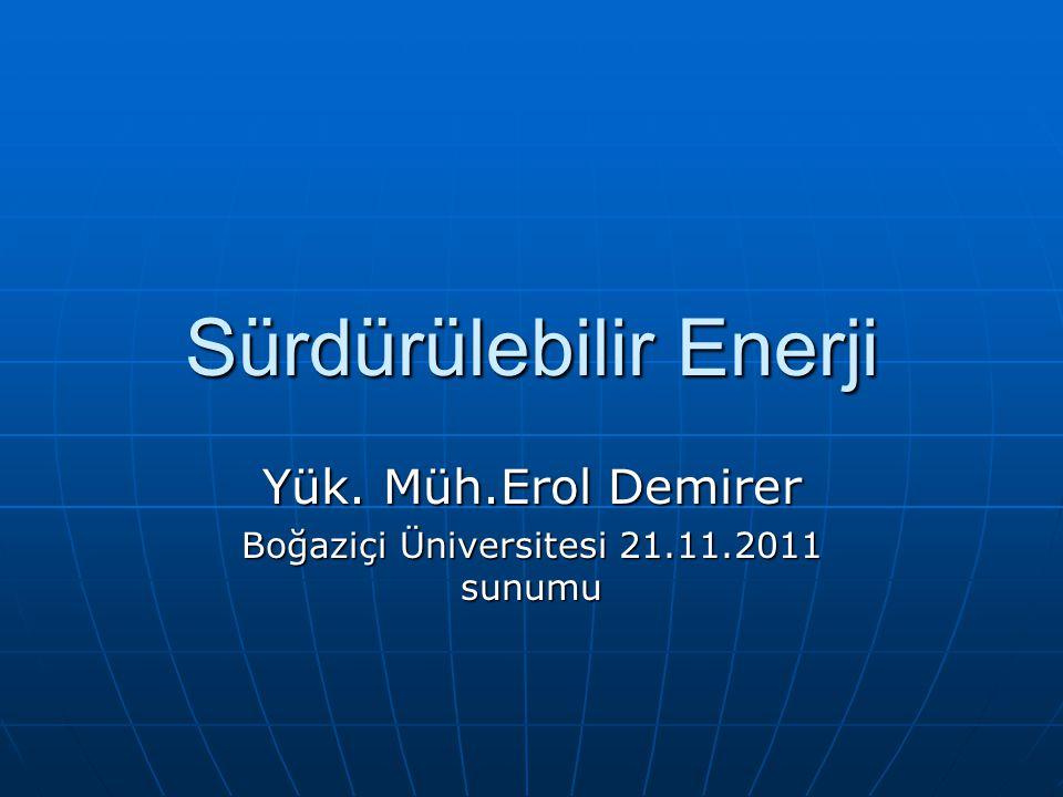 Sürdürülebilir Enerji
