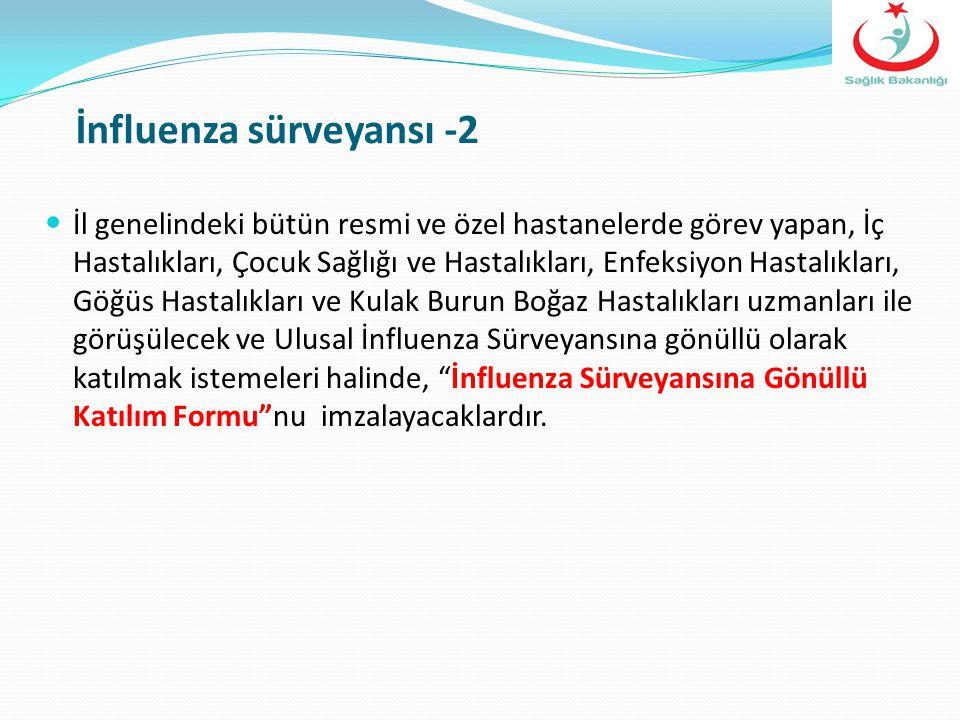 İnfluenza sürveyansı -2