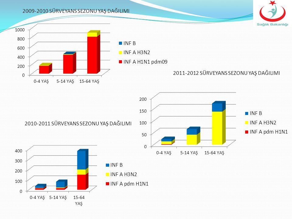 2009-2010 SÜRVEYANS SEZONU YAŞ DAĞILIMI
