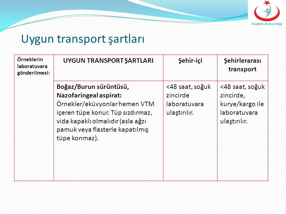 UYGUN TRANSPORT ŞARTLARI Şehirlerarası transport