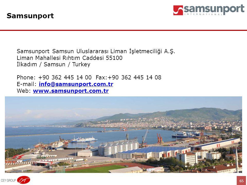 Samsunport Samsunport Samsun Uluslararası Liman İşletmeciliği A.Ş.