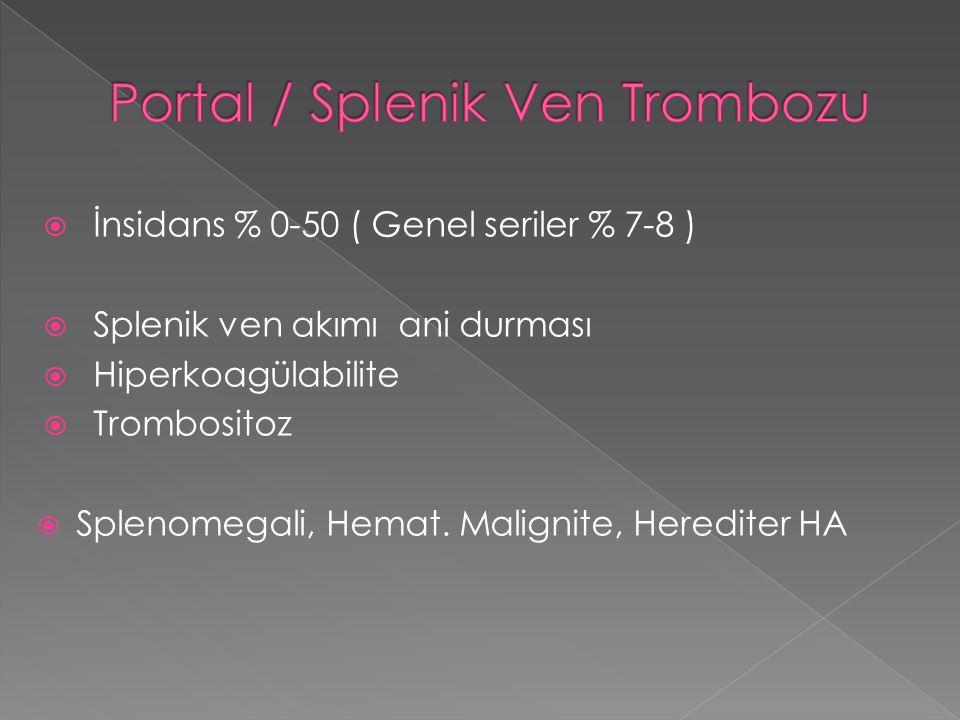 Portal / Splenik Ven Trombozu
