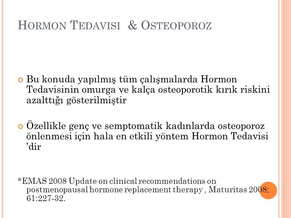 Hormon Tedavisi & Osteoporoz