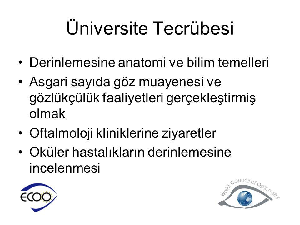 Üniversite Tecrübesi Derinlemesine anatomi ve bilim temelleri