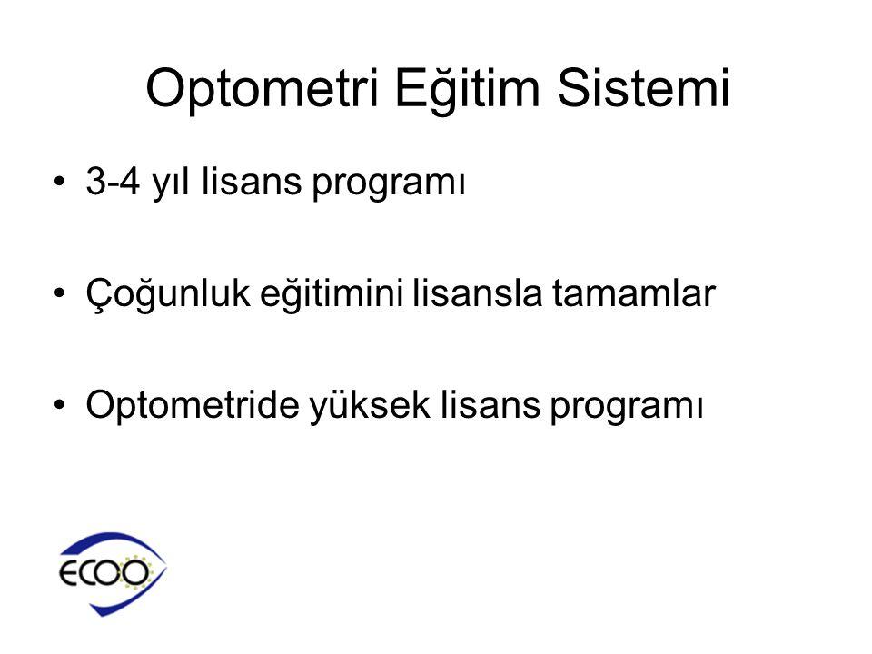 Optometri Eğitim Sistemi