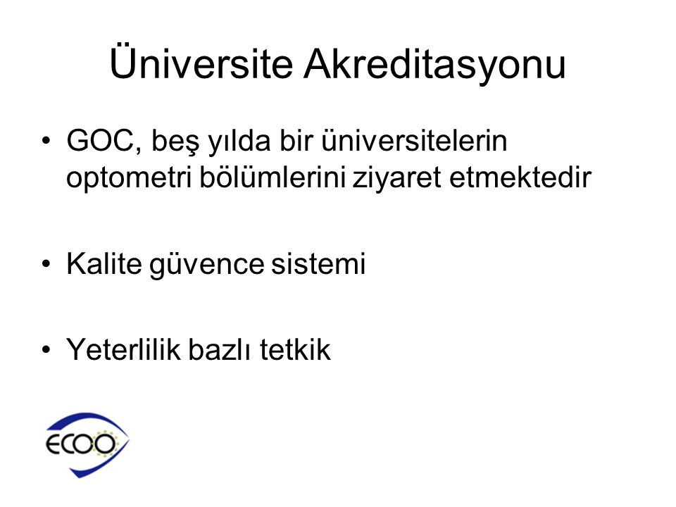 Üniversite Akreditasyonu