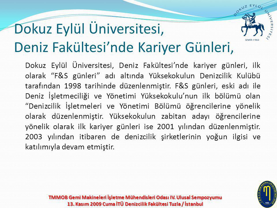 Dokuz Eylül Üniversitesi, Deniz Fakültesi'nde Kariyer Günleri,