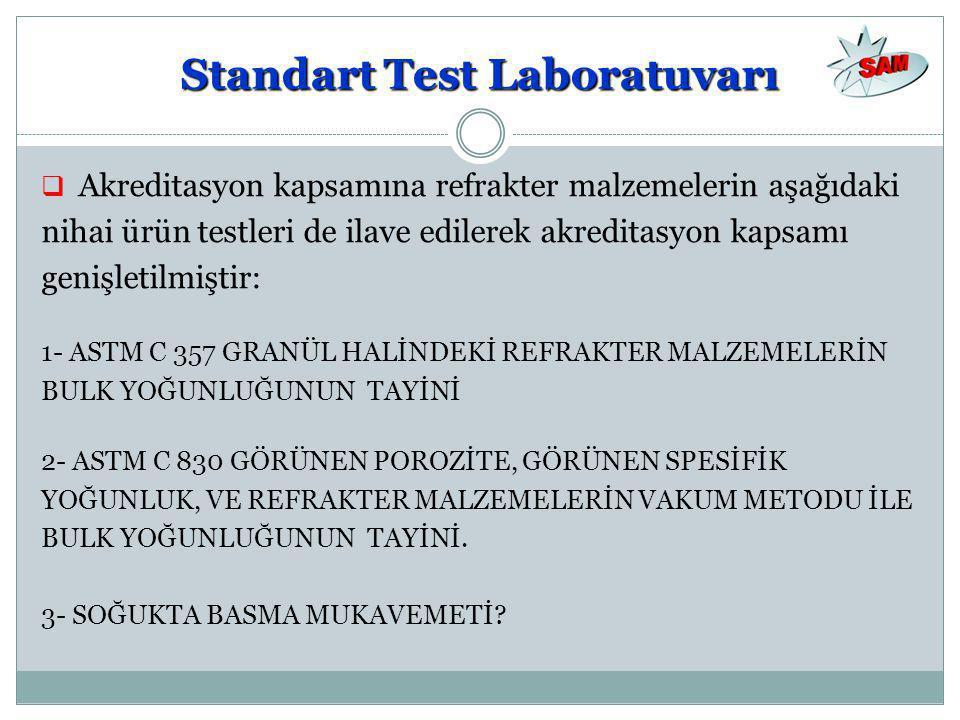 Standart Test Laboratuvarı