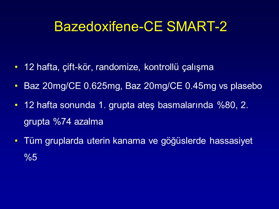 Bazedoxifene-CE SMART-2