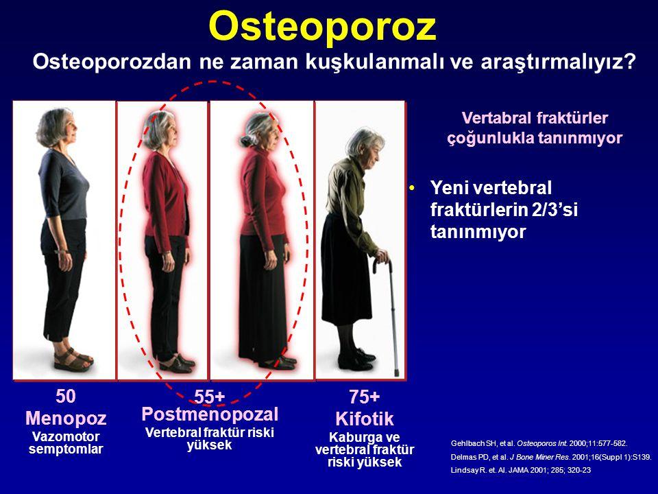 Osteoporoz Osteoporozdan ne zaman kuşkulanmalı ve araştırmalıyız