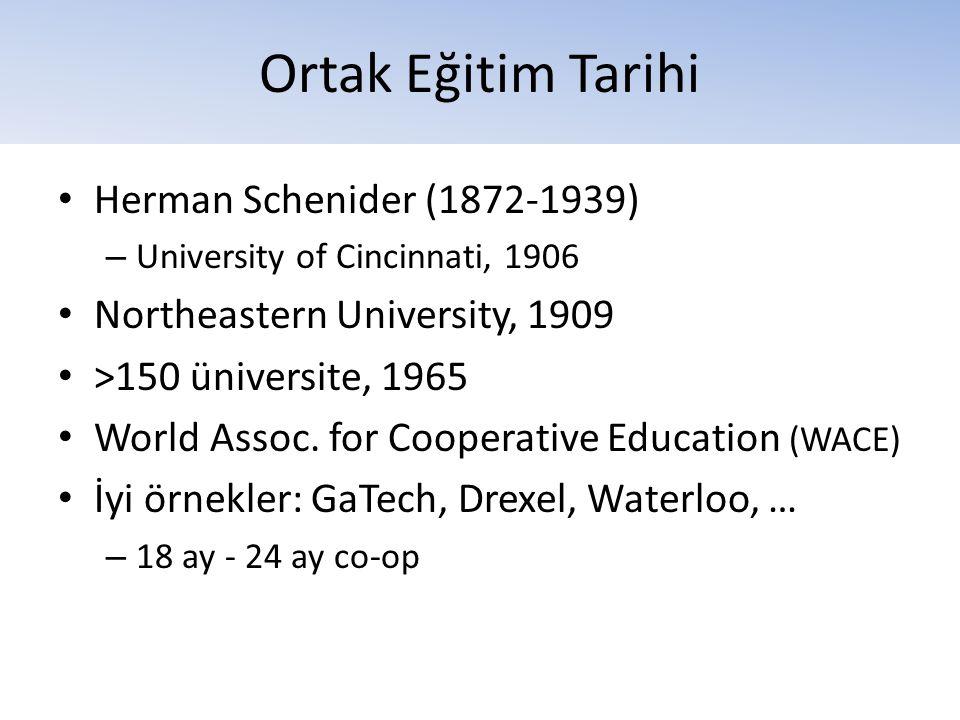 Ortak Eğitim Tarihi Herman Schenider (1872-1939)