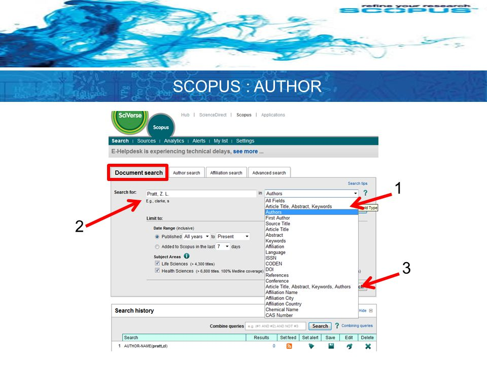 1 2 3 SCOPUS : AUTHOR