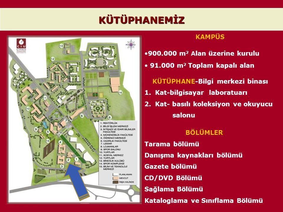 KÜTÜPHANE-Bilgi merkezi binası