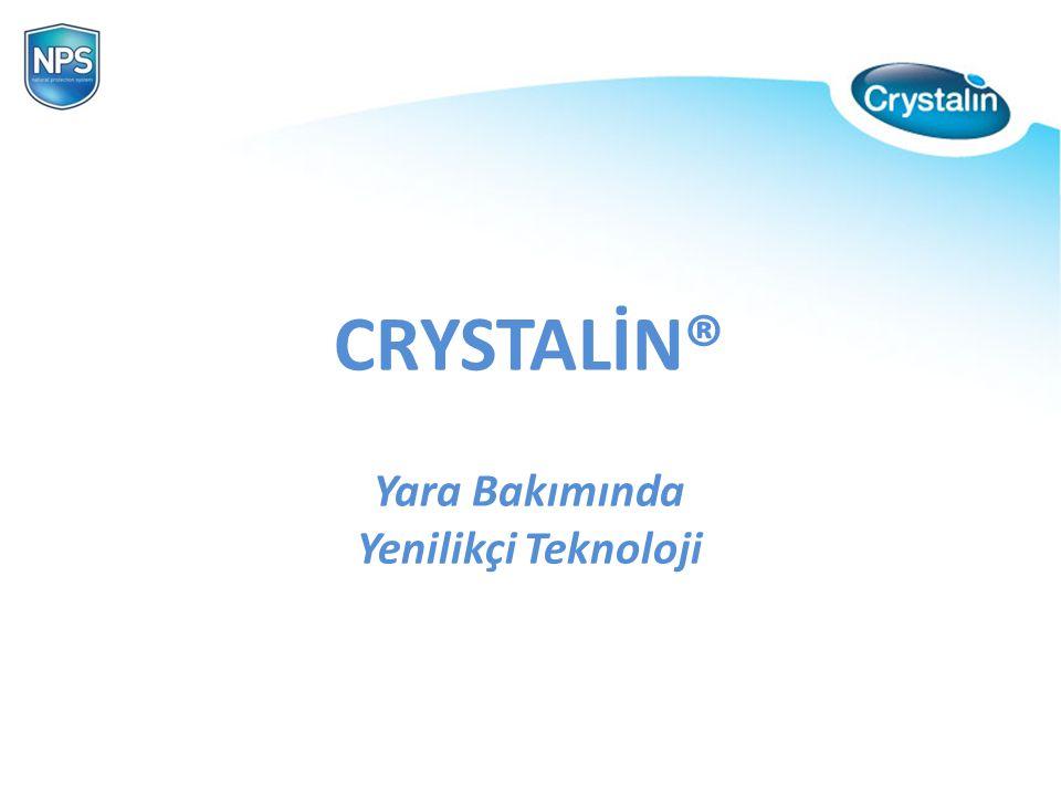 CRYSTALİN® Yara Bakımında Yenilikçi Teknoloji