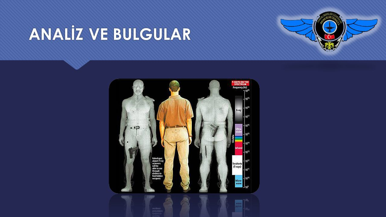 ANALİZ VE BULGULAR